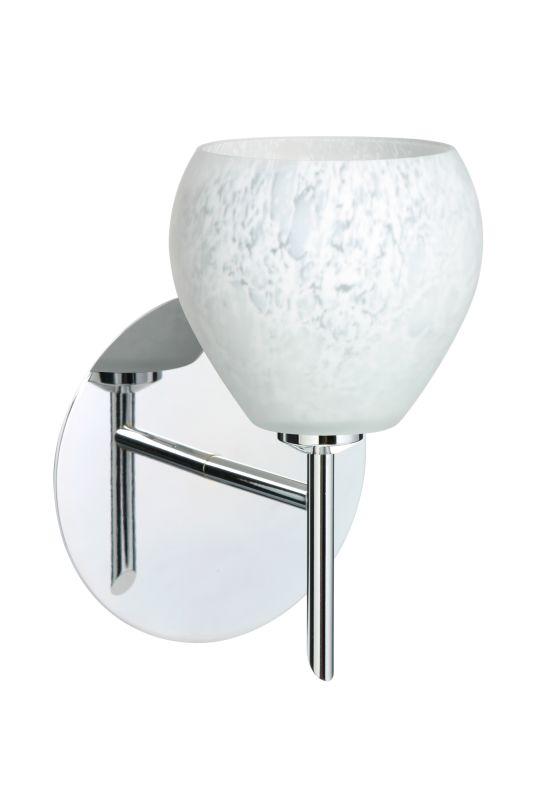 BESA Lighting 1SW-560519 Tay Tay 1 Light Halogen Bathroom Sconce with