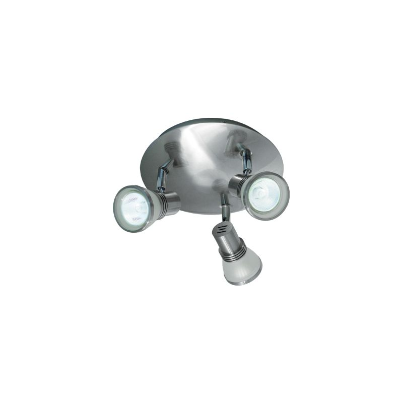 Bazz Lighting PX7083BS Accent Series Three-Light Semi Flush Ceiling