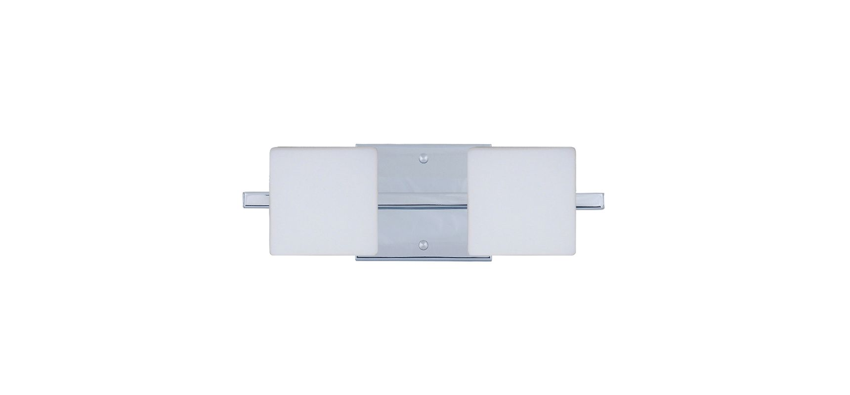 Besa Lighting 2WS-773507 Alex 2 Light ADA Compliant Halogen Bathroom