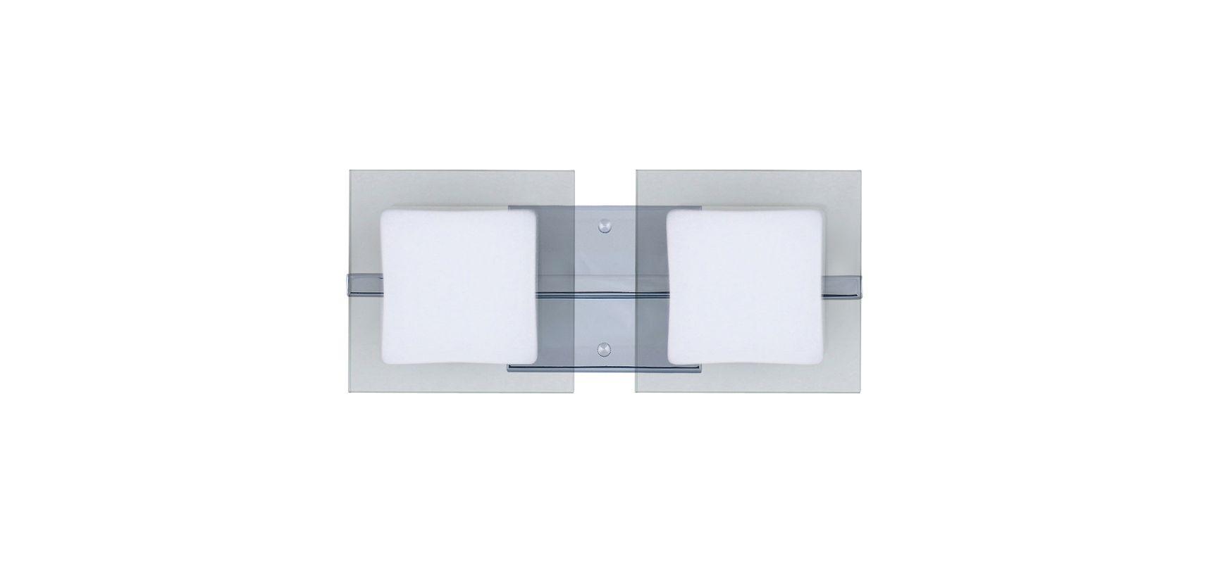 Besa Lighting 2WS-773539 Alex 2 Light ADA Compliant Halogen Bathroom