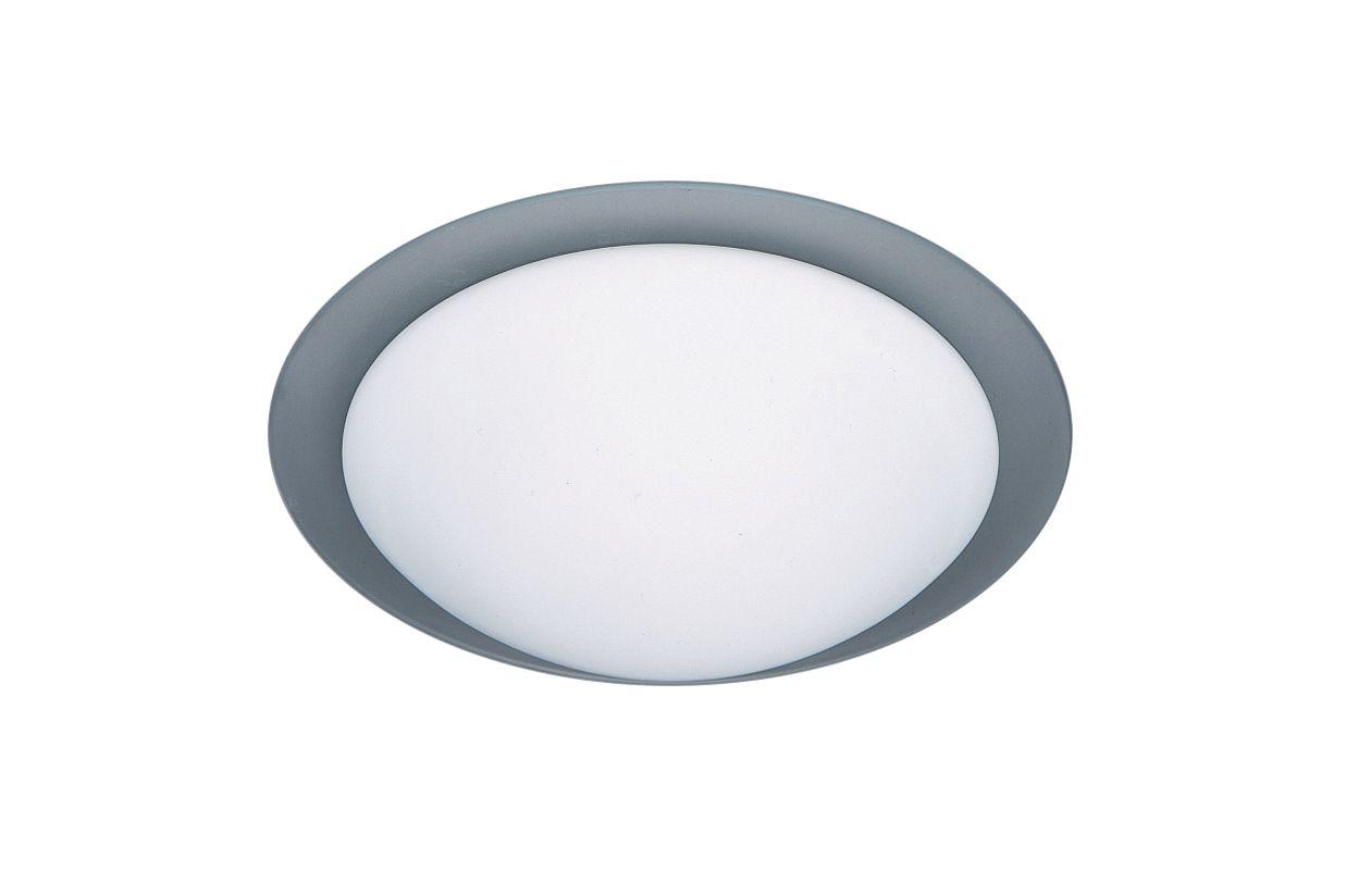 besa lighting 977125c frost trim ring 2 light flush mount. Black Bedroom Furniture Sets. Home Design Ideas