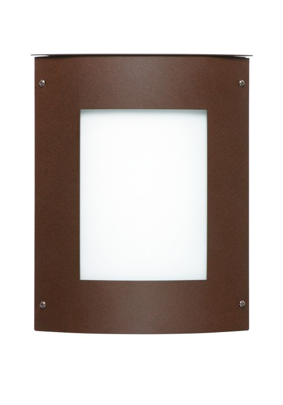 Besa Lighting 105-842007 Moto 1 Light ADA Compliant Outdoor Wall