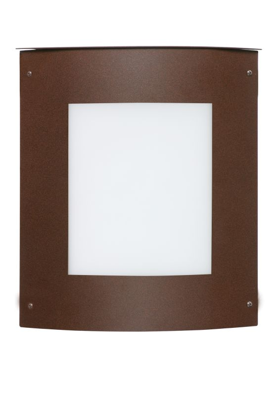 Besa Lighting 107-842107 Moto 1 Light ADA Compliant Outdoor Wall Sale $369.00 ITEM: bci778490 ID#:107-842107-BR UPC: 767893363703 :