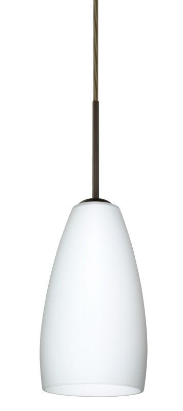 Besa Lighting 1BT-150907 Chrissy 1 Light Cord-Hung Mini Pendant with