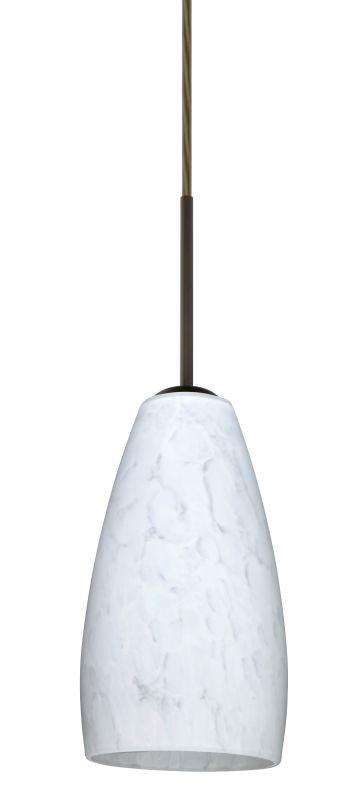 Besa Lighting 1BT-150919 Chrissy 1 Light Cord-Hung Mini Pendant with