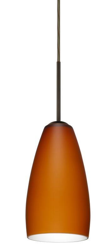 Besa Lighting 1BT-150980 Chrissy 1 Light Cord-Hung Mini Pendant with