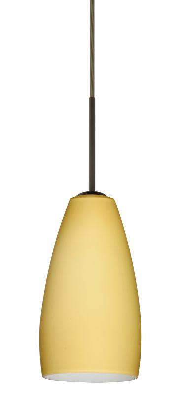 Besa Lighting 1BT-1509VM Chrissy 1 Light Cord-Hung Mini Pendant with