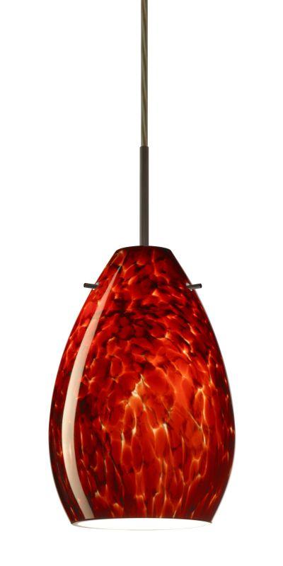 Besa Lighting 1BT-171341 Pera 1 Light Cord-Hung Mini Pendant with