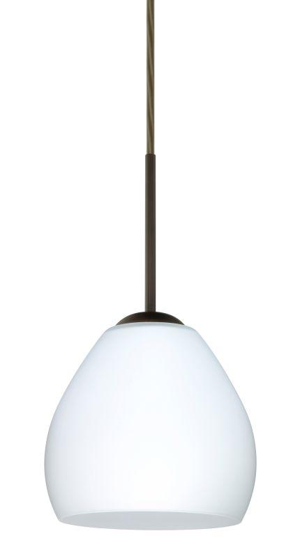 Besa Lighting 1BT-412207-LED Bolla 1 Light LED Cord-Hung Mini Pendant