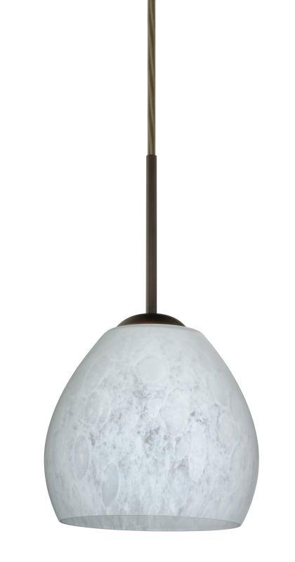Besa Lighting 1BT-412219-LED Bolla 1 Light LED Cord-Hung Mini Pendant