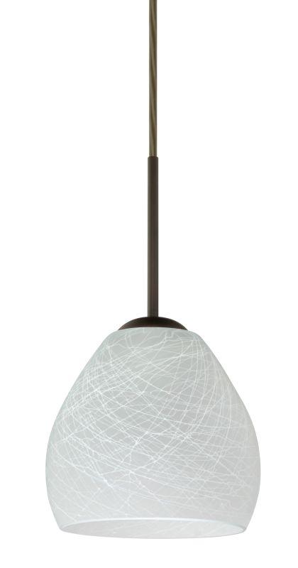 Besa Lighting 1BT-412260-LED Bolla 1 Light LED Cord-Hung Mini Pendant