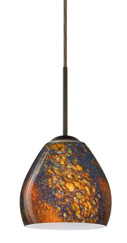 Besa Lighting 1BT-4122CE-LED Bolla 1 Light LED Cord-Hung Mini Pendant Sale $225.00 ITEM: bci2389341 ID#:1BT-4122CE-LED-BR UPC: 767893850432 :