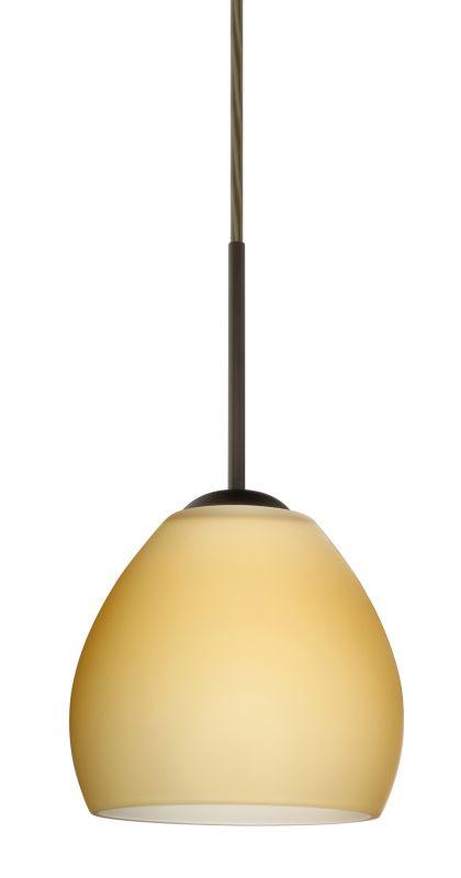 Besa Lighting 1BT-4122VM-LED Bolla 1 Light LED Cord-Hung Mini Pendant