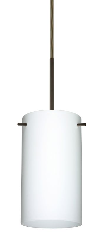 Besa Lighting 1BT-440407-LED Stilo 1 Light LED Cord-Hung Mini Pendant