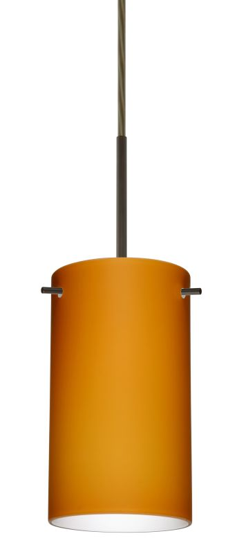 Besa Lighting 1BT-440480-LED Stilo 1 Light LED Cord-Hung Mini Pendant Sale $216.00 ITEM: bci2389397 ID#:1BT-440480-LED-BR UPC: 767893855161 :