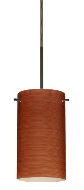 Besa Lighting 1BT-4404CH-LED Stilo 1 Light LED Cord-Hung Mini Pendant