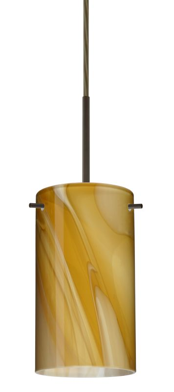 Besa Lighting 1BT-4404HN-LED Stilo 1 Light LED Cord-Hung Mini Pendant
