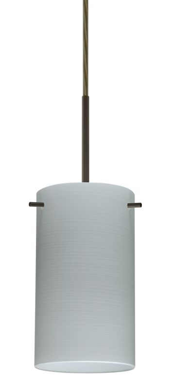 Besa Lighting 1BT-4404KR-LED Stilo 1 Light LED Cord-Hung Mini Pendant