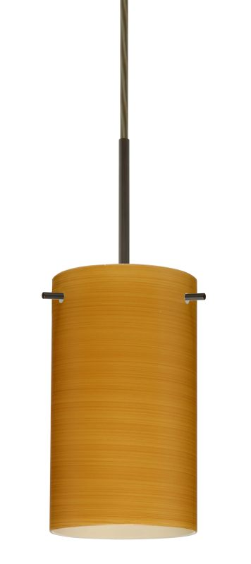Besa Lighting 1BT-4404OK-LED Stilo 1 Light LED Cord-Hung Mini Pendant
