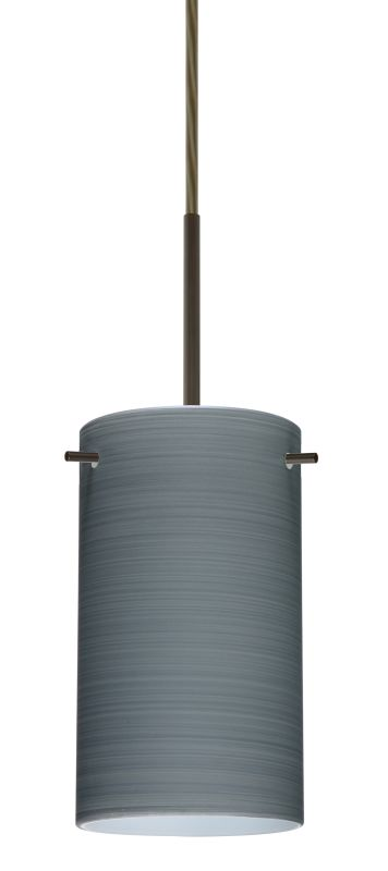 Besa Lighting 1BT-4404TN-LED Stilo 1 Light LED Cord-Hung Mini Pendant