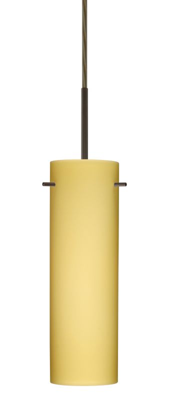 Besa Lighting 1BT-4930VM Copa 1 Light Cord-Hung Pendant with Vanilla Sale $162.00 ITEM: bci2389595 ID#:1BT-4930VM-BR UPC: 767893686017 :