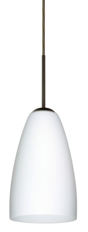 Besa Lighting 1JT-151107-LED Riva 1 Light LED Cord-Hung Mini Pendant