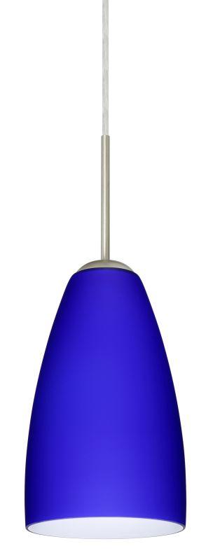 Besa Lighting 1JT-1511CM-LED Riva 1 Light LED Cord-Hung Mini Pendant