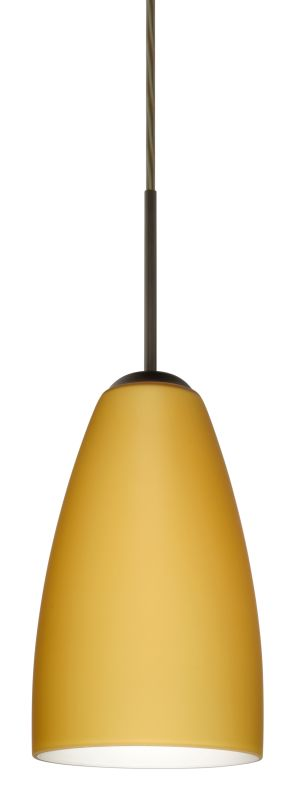 Besa Lighting 1JT-1511VM-LED Riva 1 Light LED Cord-Hung Mini Pendant