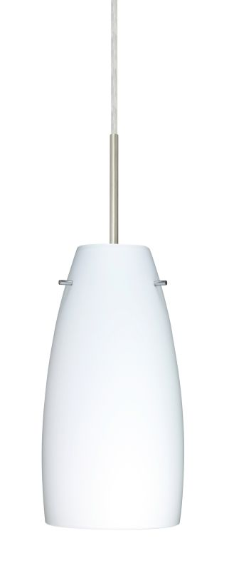 Besa Lighting 1JT-151207 Tao 1 Light Cord-Hung Pendant with Opal Matte Sale $216.00 ITEM: bci2390194 ID#:1JT-151207-SN UPC: 767893785383 :