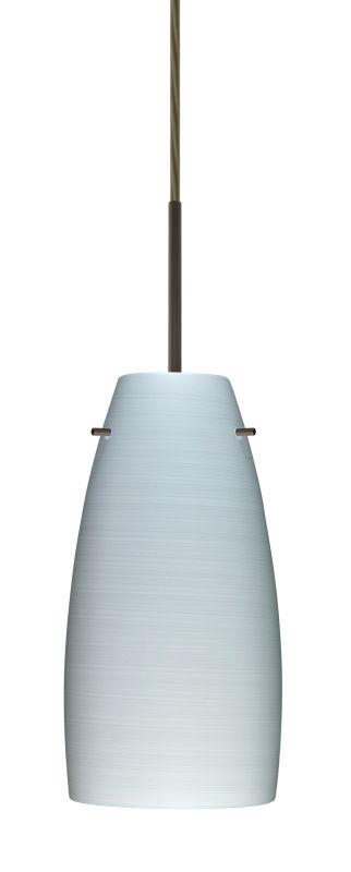 Besa Lighting 1JT-1512KR-LED Tao 1 Light LED Cord-Hung Pendant with