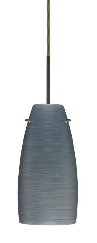 Besa Lighting 1JT-1512TN-LED Tao 1 Light LED Cord-Hung Pendant with