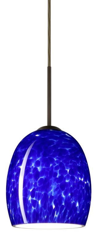 Besa Lighting 1JT-169786-LED Lucia 1 Light LED Cord-Hung Mini Pendant
