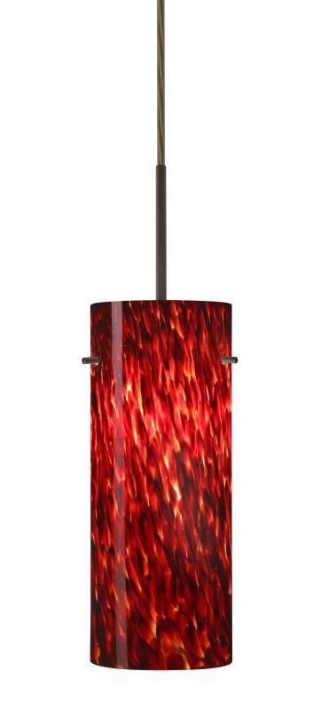 Besa Lighting 1JT-412341 Stilo 1 Light Cord-Hung Pendant with Garnet Sale $189.00 ITEM: bci2390283 ID#:1JT-412341-BR UPC: 767893689360 :
