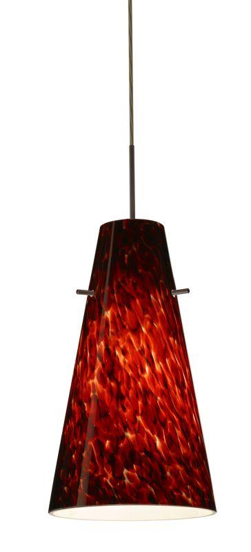 Besa Lighting 1JT-412441 Cierro 1 Light Cord-Hung Mini Pendant with Sale $189.00 ITEM: bci2390321 ID#:1JT-412441-BR UPC: 767893689643 :