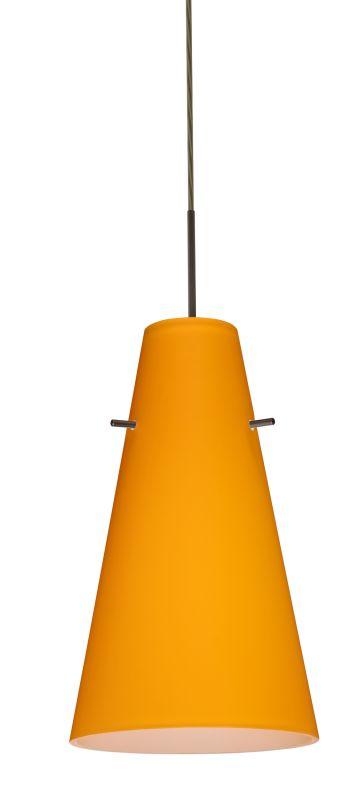 Besa Lighting 1JT-4124AM-LED Cierro 1 Light LED Cord-Hung Mini Pendant