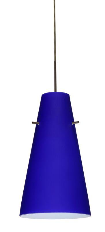 Besa Lighting 1JT-4124CM-LED Cierro 1 Light LED Cord-Hung Mini Pendant