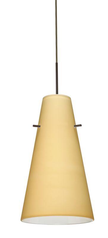 Besa Lighting 1JT-4124VM-LED Cierro 1 Light LED Cord-Hung Mini Pendant