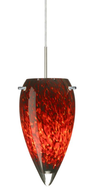 Besa Lighting 1JT-412541 Juli 1 Light Cord-Hung Pendant with Garnet Sale $229.50 ITEM: bci2390356 ID#:1JT-412541-SN UPC: 767893689773 :