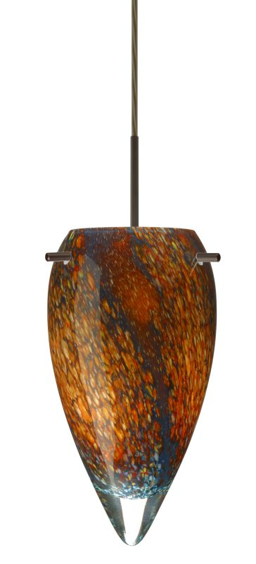 Besa Lighting 1JT-4125CE Juli 1 Light Cord-Hung Pendant with Ceylon Sale $229.50 ITEM: bci2390367 ID#:1JT-4125CE-BR UPC: 767893785642 :