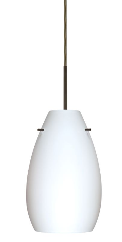 Besa Lighting 1JT-412607-LED Pera 1 Light LED Cord-Hung Mini Pendant