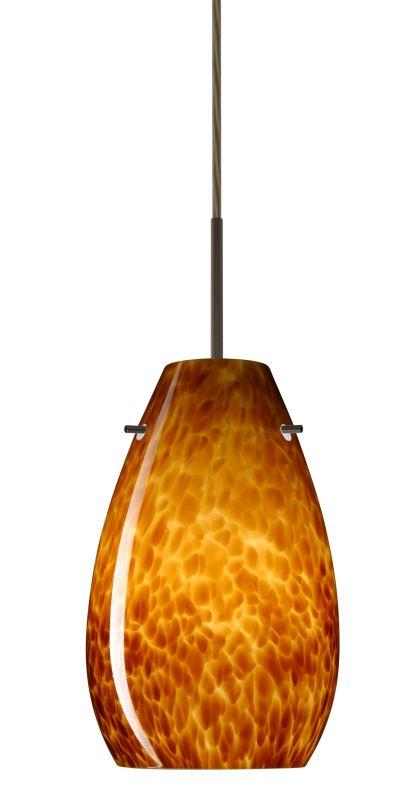 Besa Lighting 1JT-412618-LED Pera 1 Light LED Cord-Hung Mini Pendant