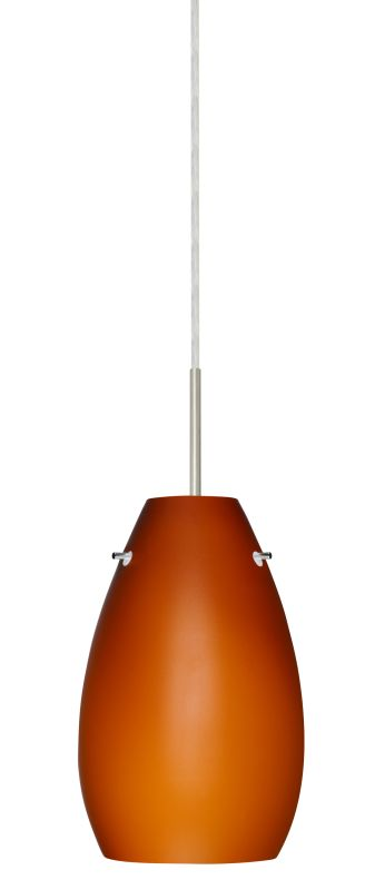 Besa Lighting 1JT-412680 Pera 1 Light Cord-Hung Mini Pendant with Sale $229.50 ITEM: bci2390386 ID#:1JT-412680-SN UPC: 767893689896 :