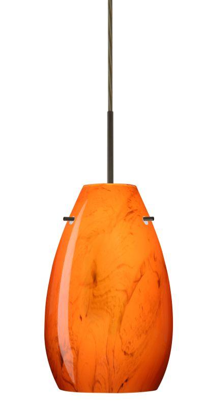 Besa Lighting 1JT-4126HB-LED Pera 1 Light LED Cord-Hung Mini Pendant