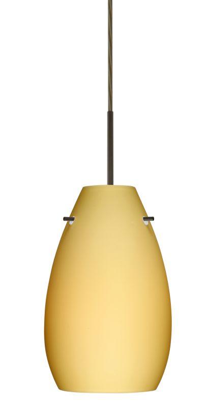 Besa Lighting 1JT-4126VM-LED Pera 1 Light LED Cord-Hung Mini Pendant