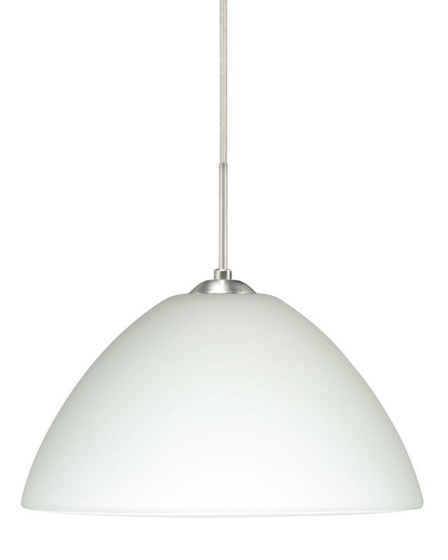 Besa Lighting 1JT-420107-LED Tessa 1 Light LED Cord-Hung Pendant with
