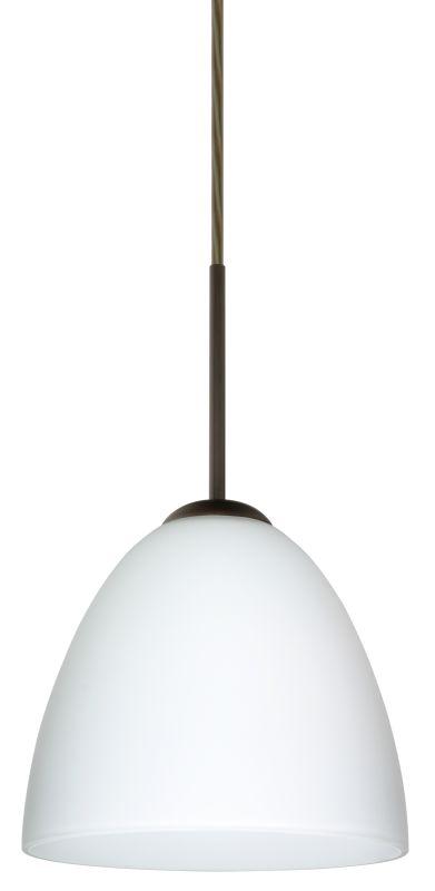 Besa Lighting 1JT-447007-LED Vila 1 Light LED Cord-Hung Mini Pendant