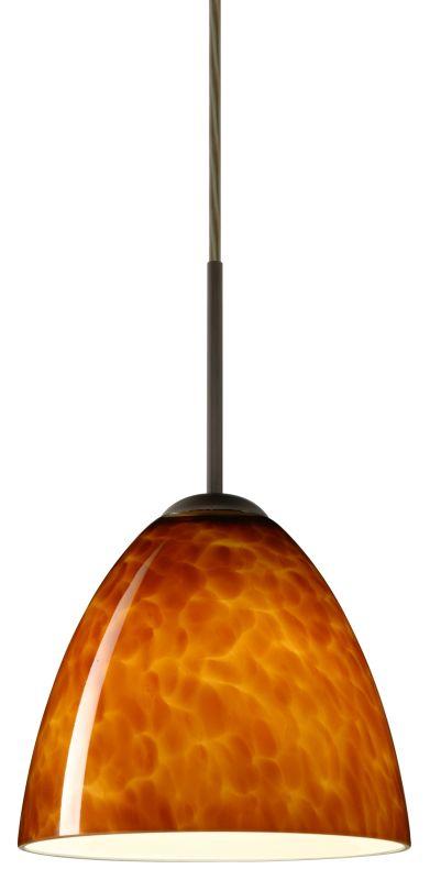 Besa Lighting 1JT-447018-LED Vila 1 Light LED Cord-Hung Mini Pendant