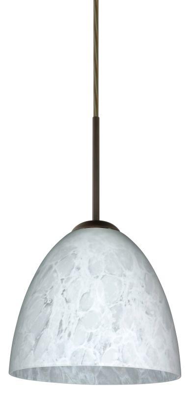Besa Lighting 1JT-447019-LED Vila 1 Light LED Cord-Hung Mini Pendant