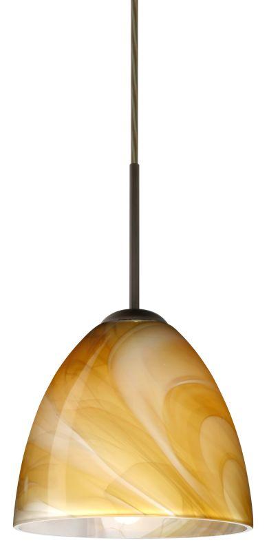 Besa Lighting 1JT-4470HN-LED Vila 1 Light LED Cord-Hung Mini Pendant