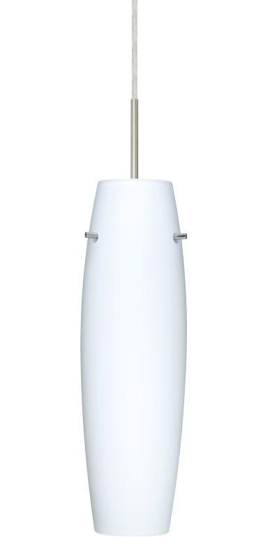 Besa Lighting 1JT-489707 Suzi 1 Light Cord-Hung Pendant with Opal